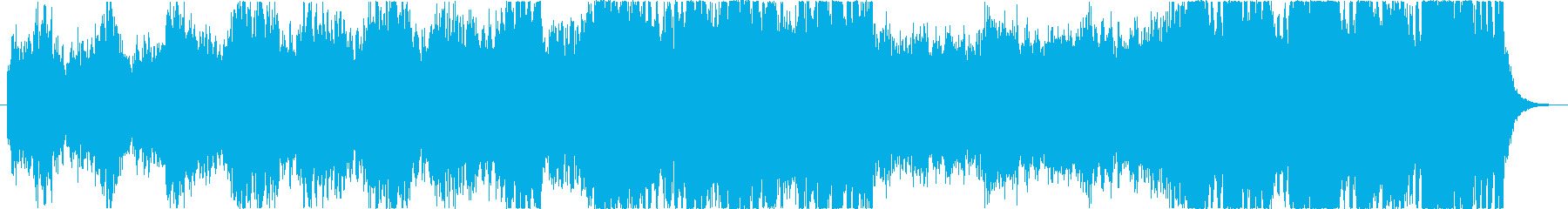 決戦前の熱い闘志/壮大なオーケストラ風の再生済みの波形