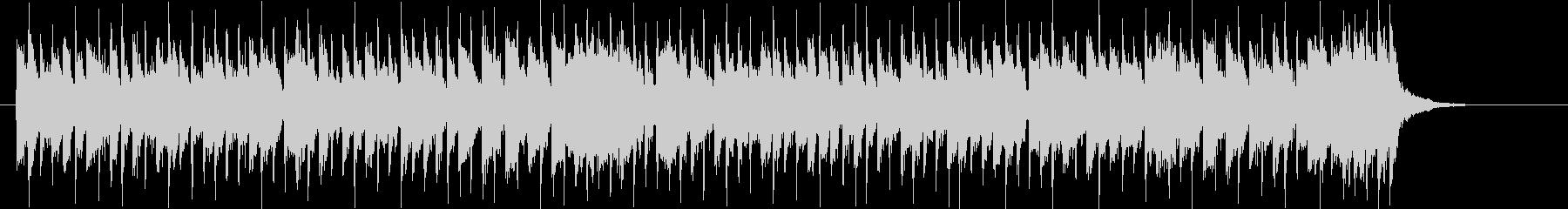 クラリネットのような音色が楽しいシンセ曲の未再生の波形