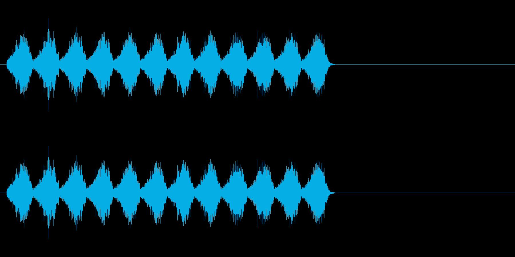 オーラの効果音_チャージ音にの再生済みの波形