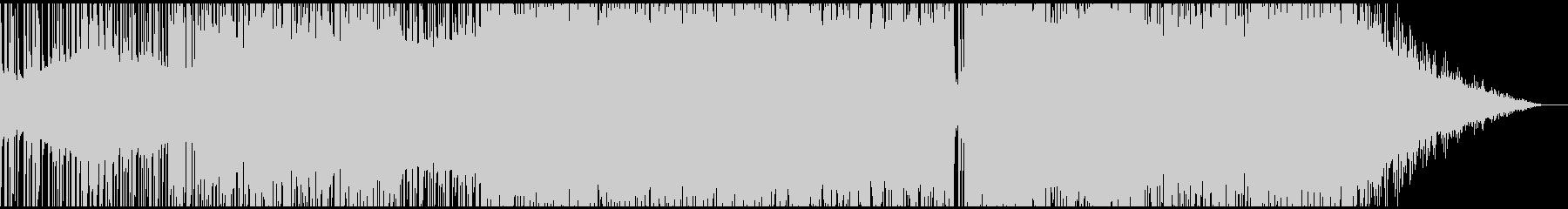和風FutureBassの未再生の波形