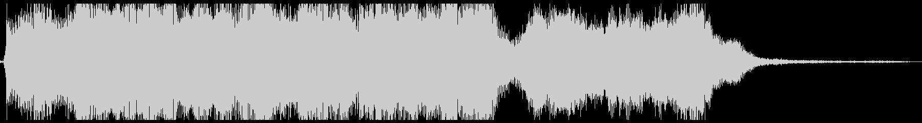 和風オーケストラ:タイトルロゴ,ジングルの未再生の波形