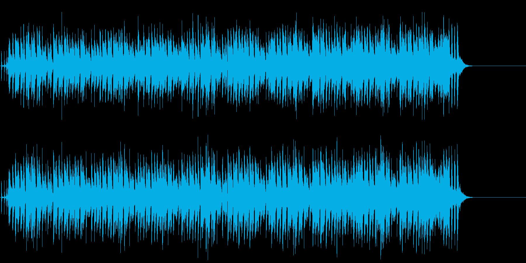 弾むキッズ・ポップスの再生済みの波形