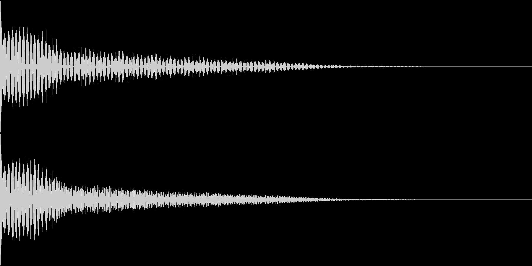 TVFX ビヨーンとヘンテコなSE 2の未再生の波形