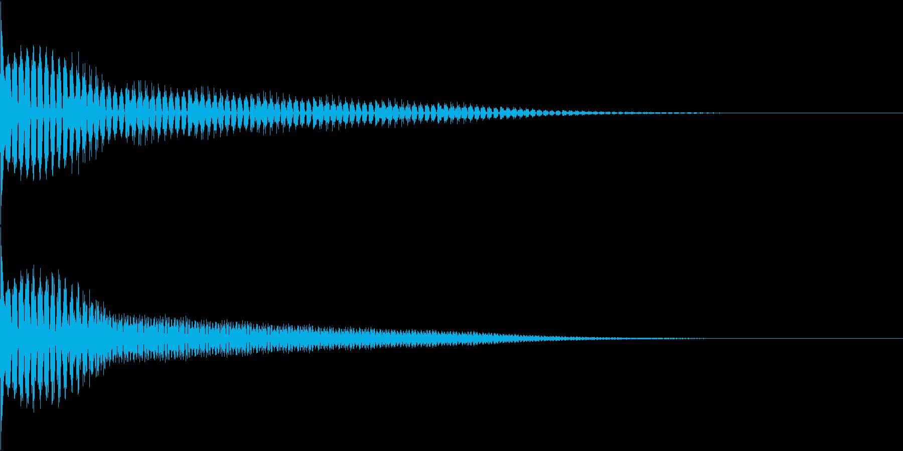 TVFX ビヨーンとヘンテコなSE 2の再生済みの波形