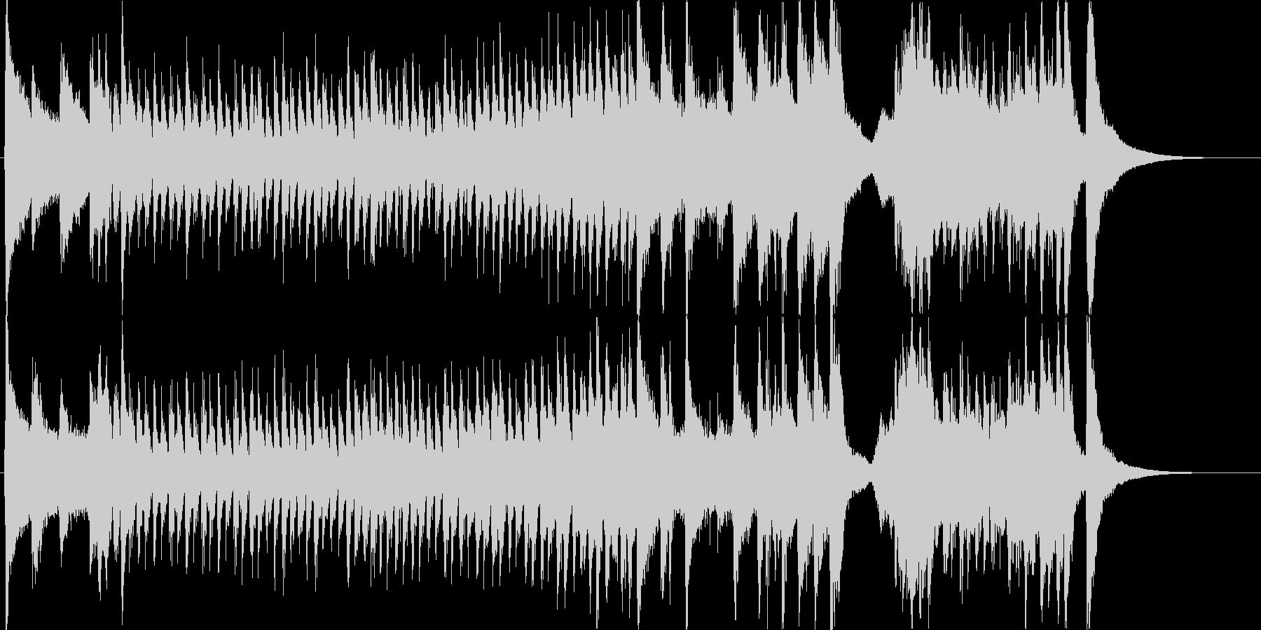 明るく賑やかで愉快なオーケストラマーチ3の未再生の波形