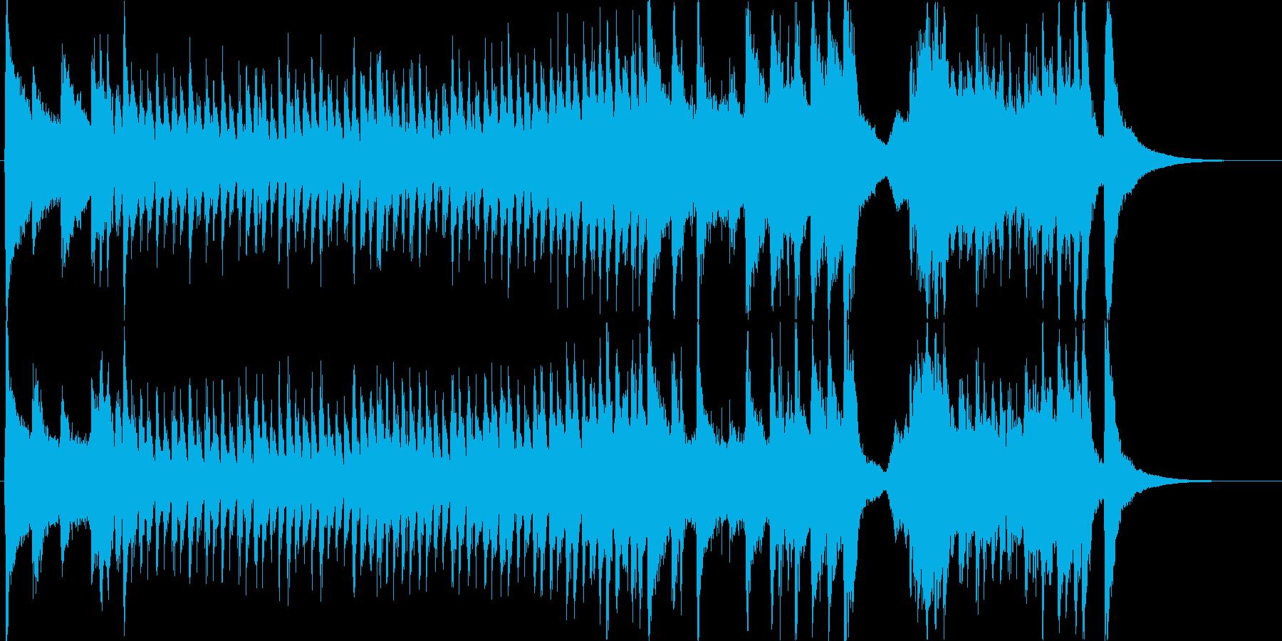 明るく賑やかで愉快なオーケストラマーチ3の再生済みの波形