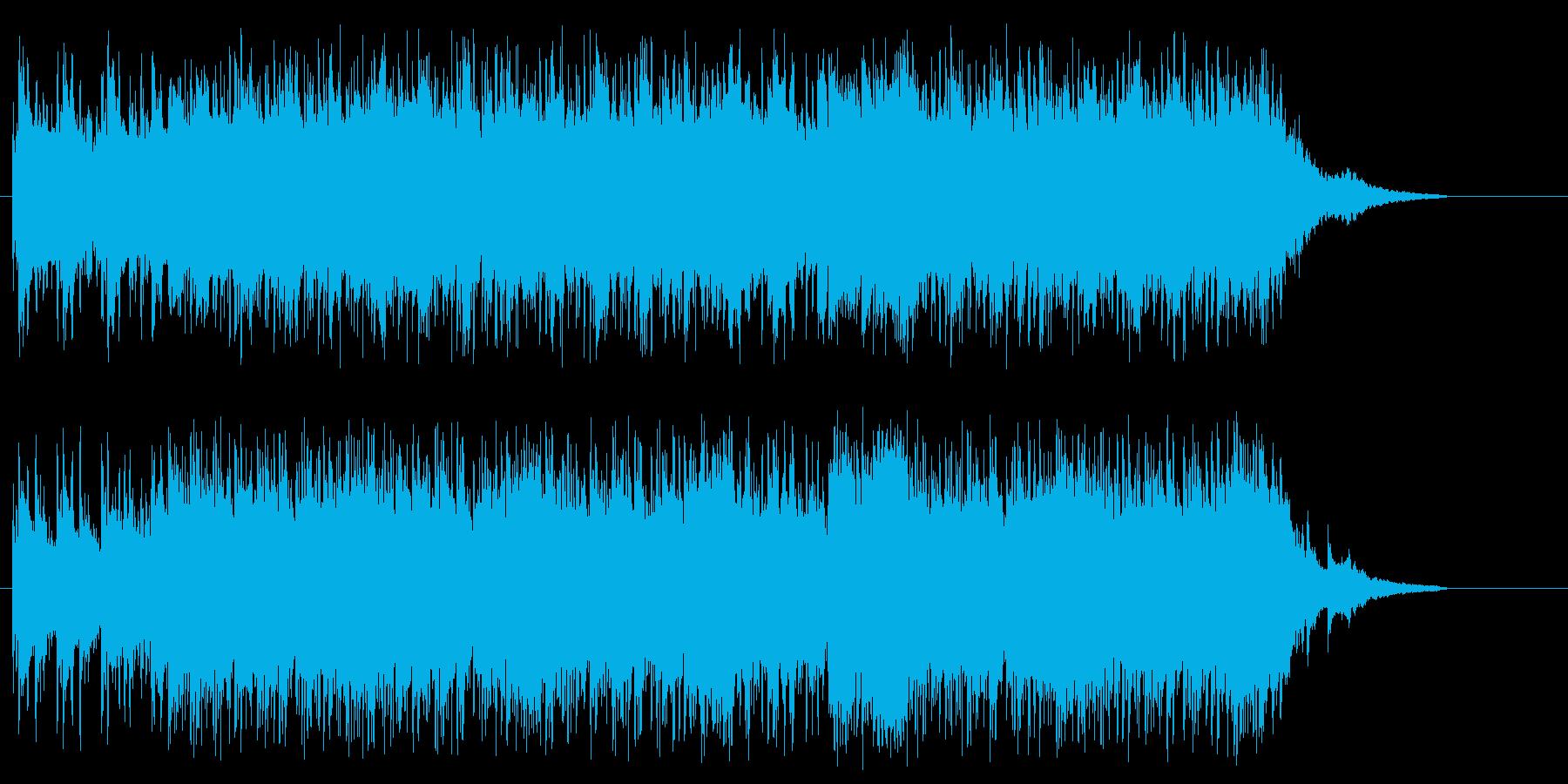軽快なスタイリッシュなジューシーポップスの再生済みの波形