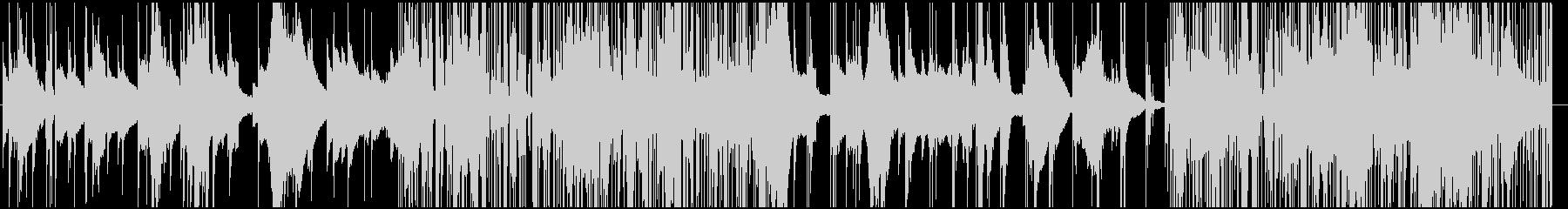 オルゴール+ノイズの切ないエレクトロニカの未再生の波形