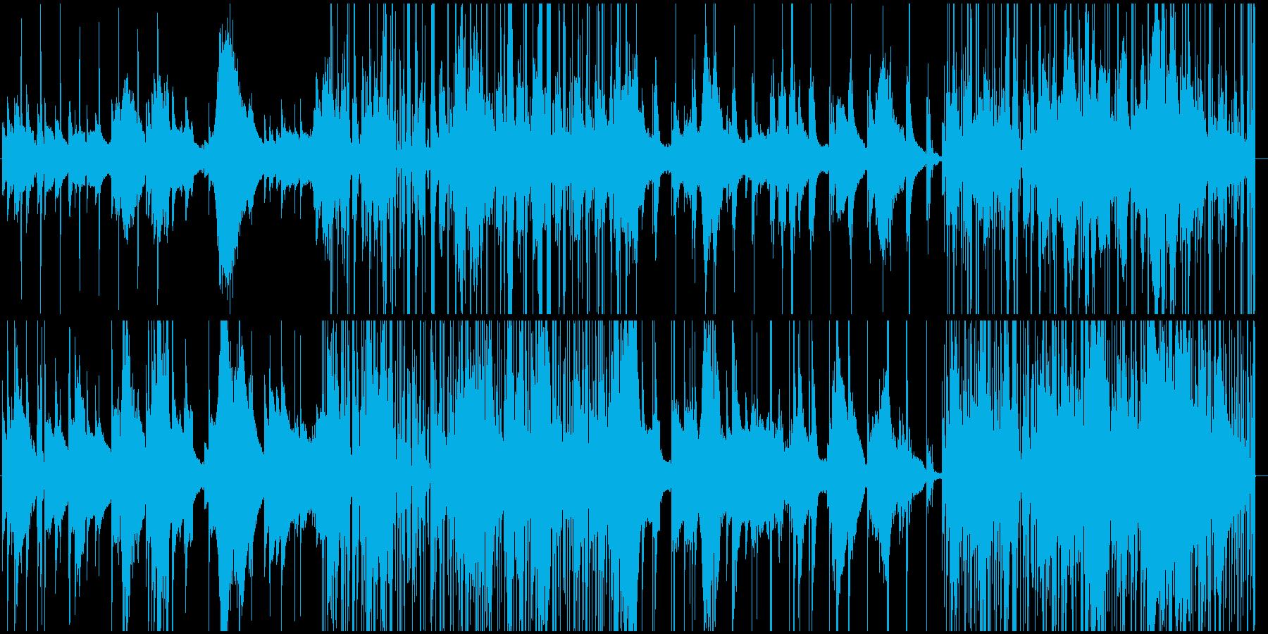 オルゴール+ノイズの切ないエレクトロニカの再生済みの波形