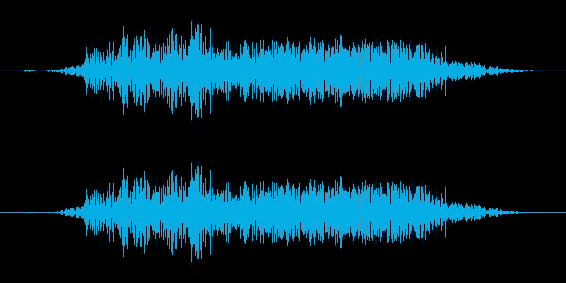 【打撃音09】パンチやキックに最適です!の再生済みの波形
