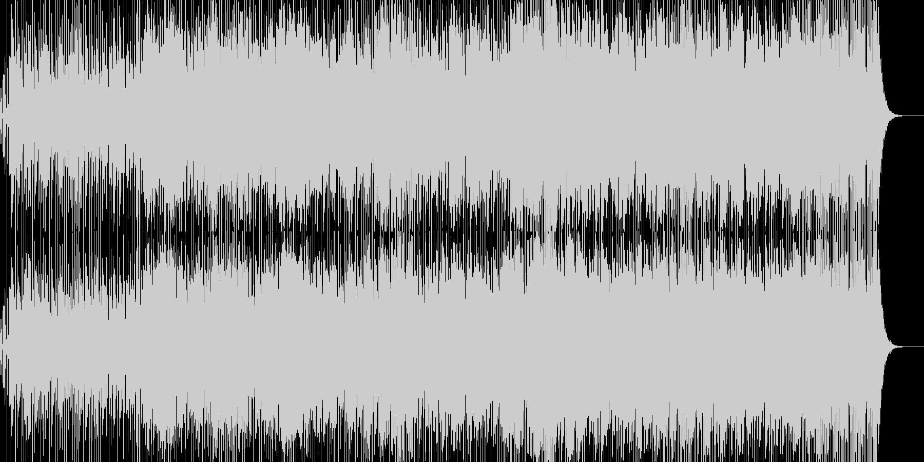 近未来・スタイリッシュ・シンセリードの未再生の波形