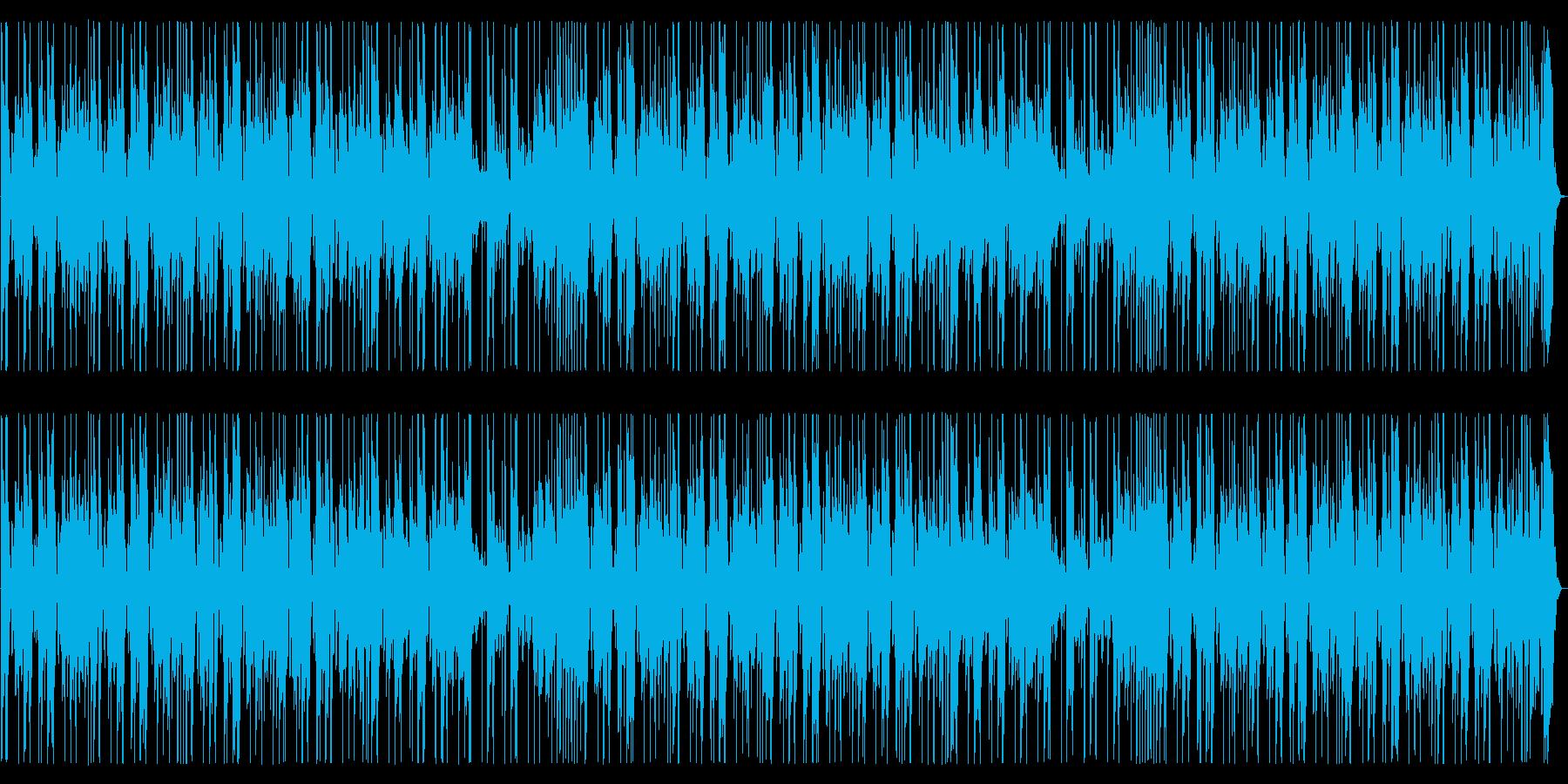 パズルゲームに合うシンセポップの再生済みの波形