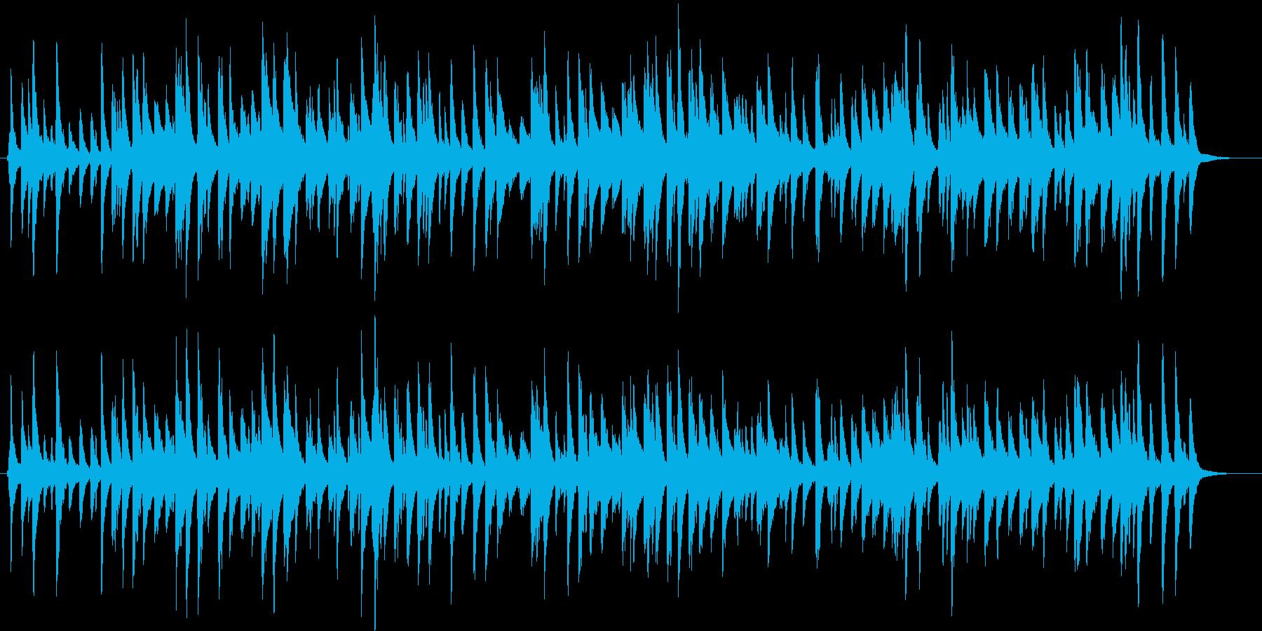 ピアノのみのシンプルな約2分の楽曲です…の再生済みの波形