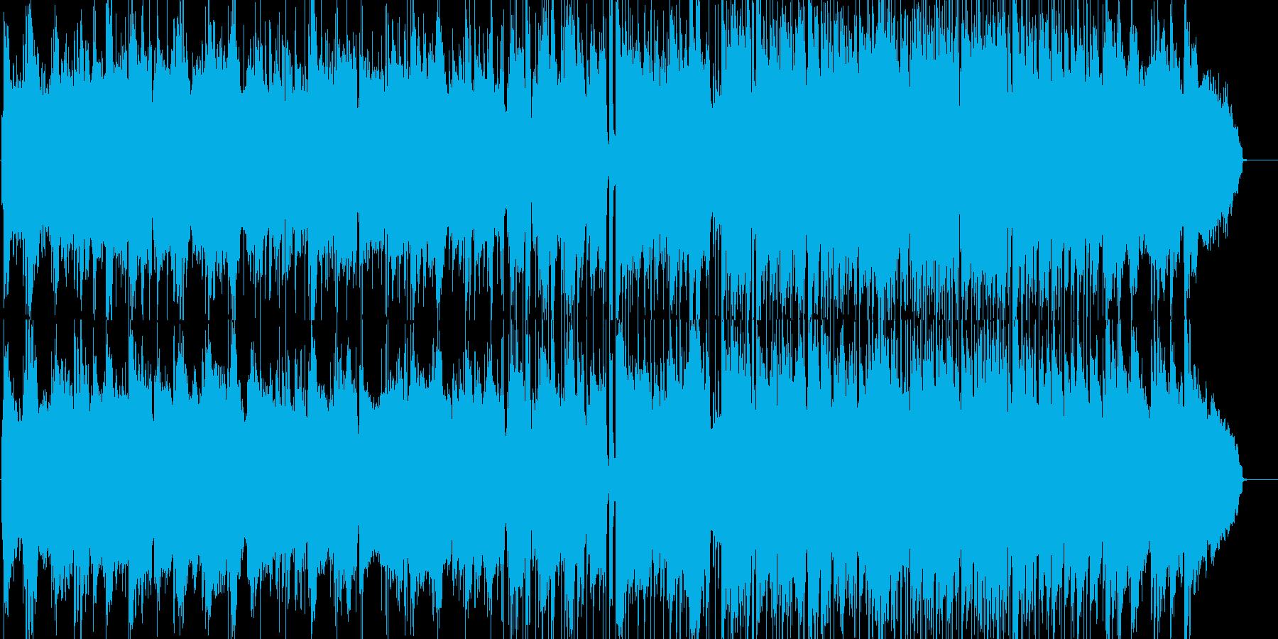 哀愁を感じるしっとりと落ち着いたBGMの再生済みの波形