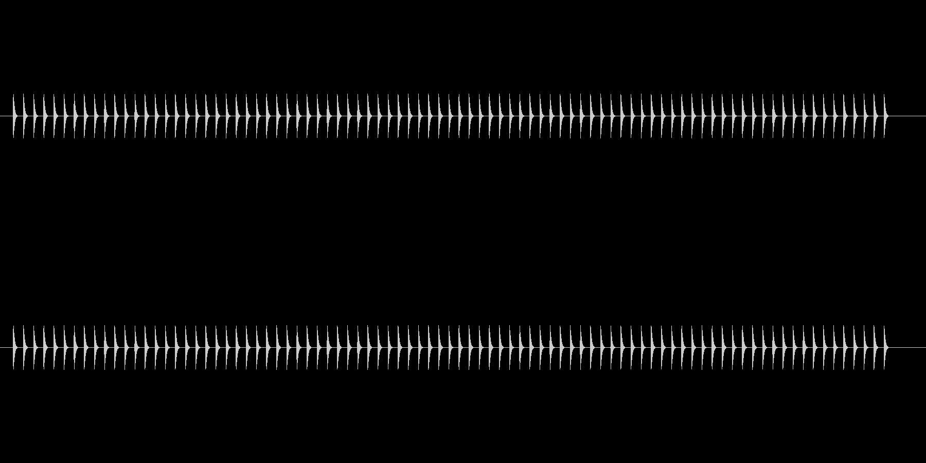 【震える01-2】の未再生の波形