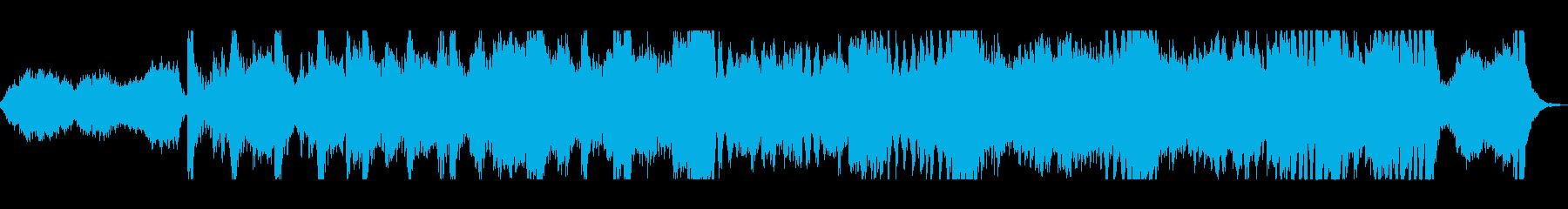 オープニングに最適なオーケストラ曲の再生済みの波形
