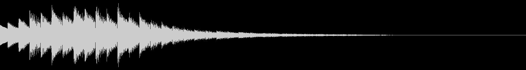 キラキラ/ニュース/映像/場面転換の未再生の波形