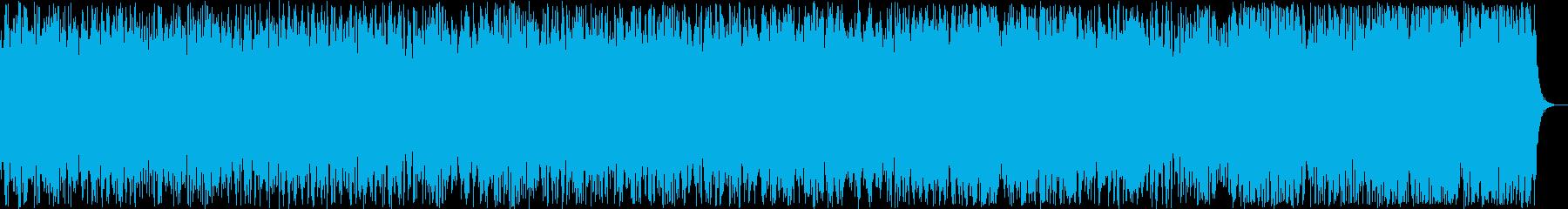 優しい印象のシンセ・ピアノサウンドの再生済みの波形