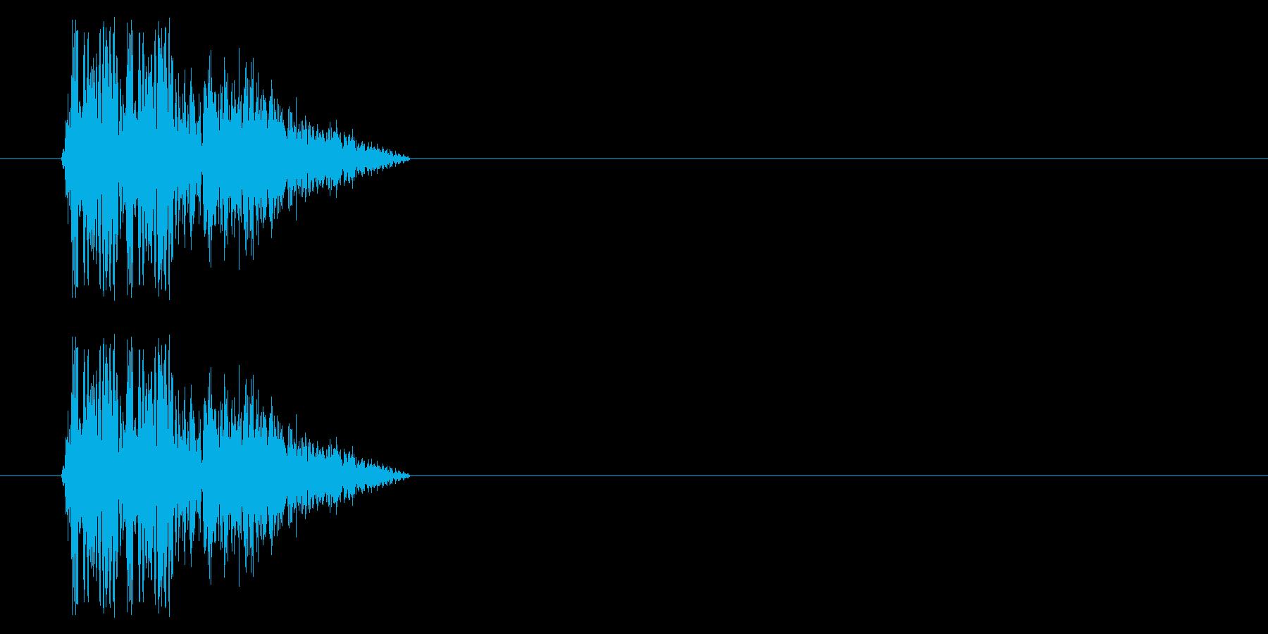 SNES 格闘06-12(倒れる)の再生済みの波形