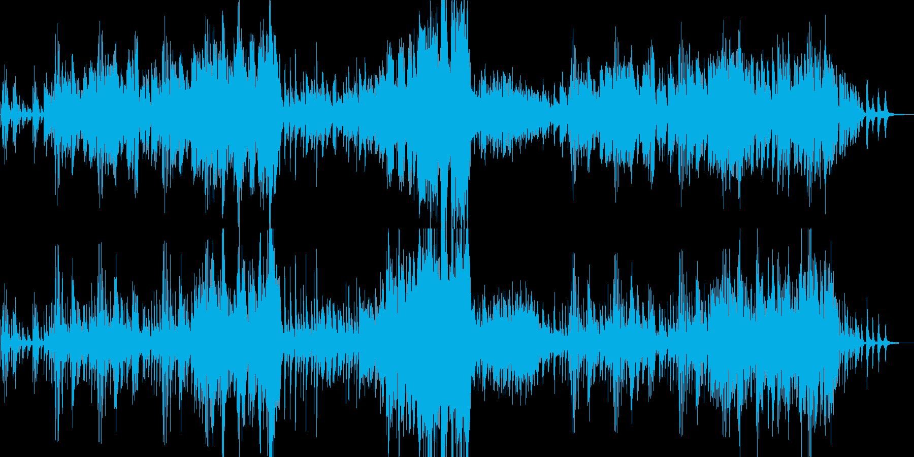 ピアノのメロディーが非常に美しい感動音楽の再生済みの波形