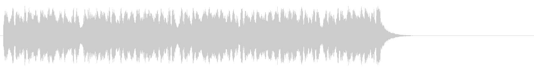 懐かしブギウギ和風ポップ(サビ)の未再生の波形