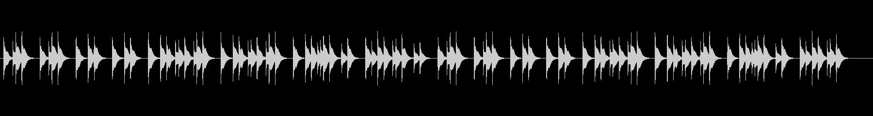 静かなきよしこの夜オルゴール版ですの未再生の波形