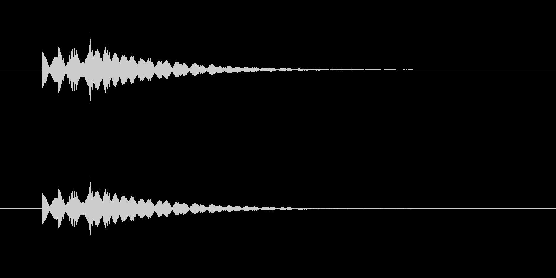 ピロリリン(透明感、爽やか)の未再生の波形