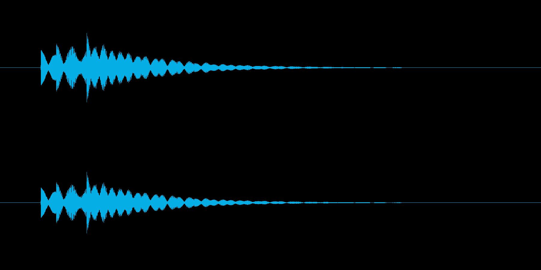 ピロリリン(透明感、爽やか)の再生済みの波形