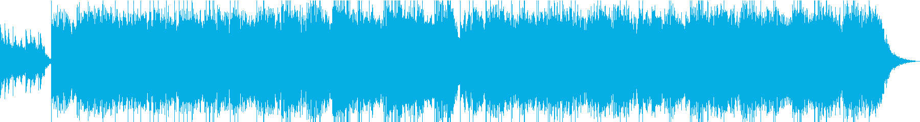 幻想的な雰囲気のアンビエントの再生済みの波形