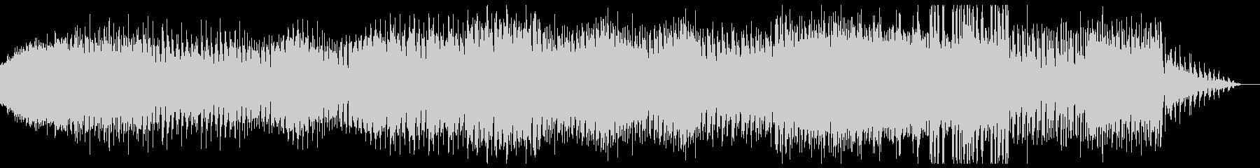 ダンサンブル、シンプルなアナログテクノの未再生の波形