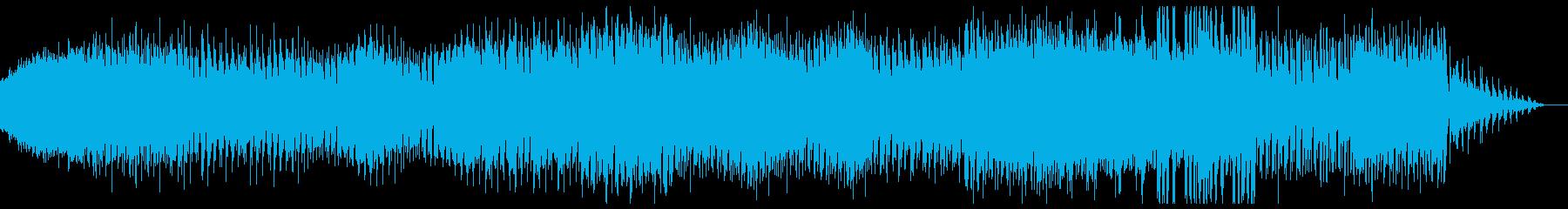 ダンサンブル、シンプルなアナログテクノの再生済みの波形