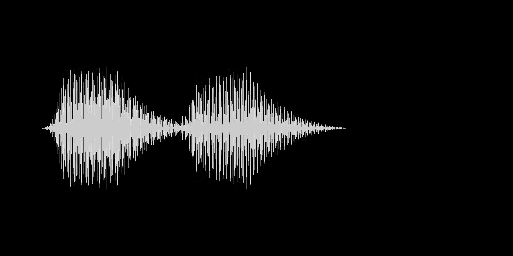 ファミコン風効果音 キャンセル系 13の未再生の波形