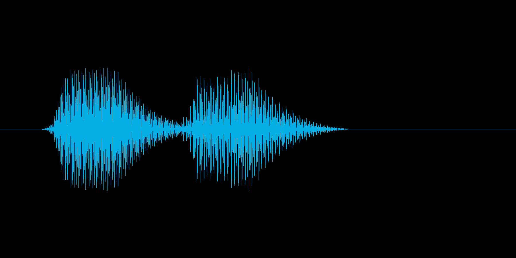 ファミコン風効果音 キャンセル系 13の再生済みの波形