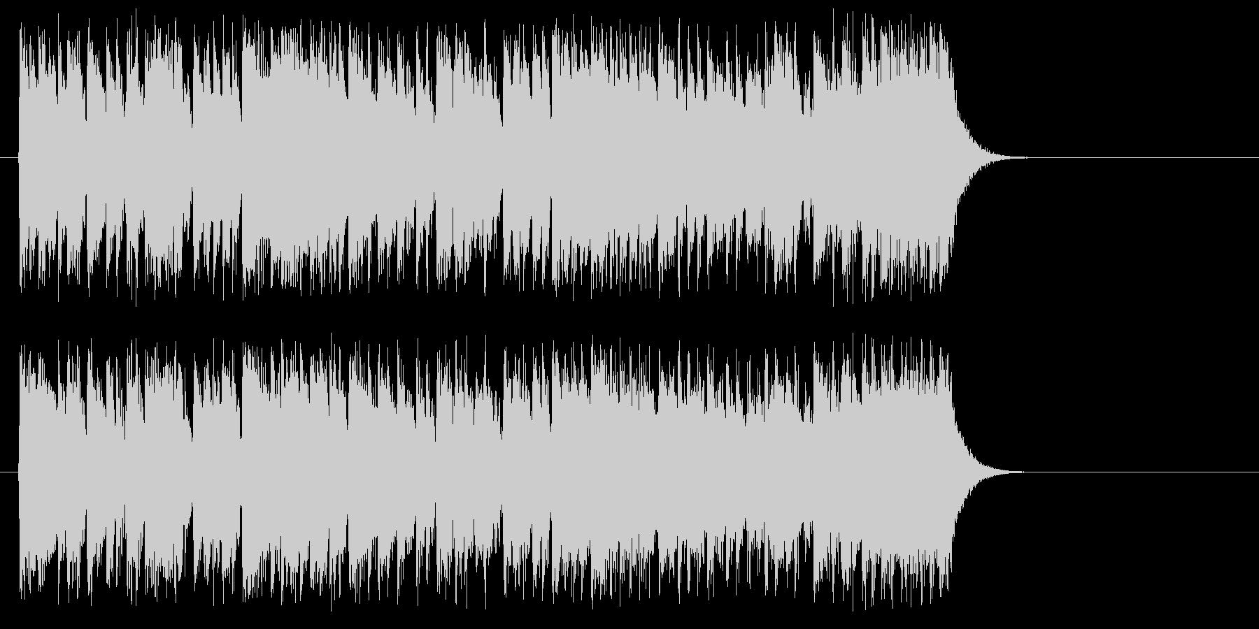 軽妙酒脱フットワーク・サウンドの未再生の波形