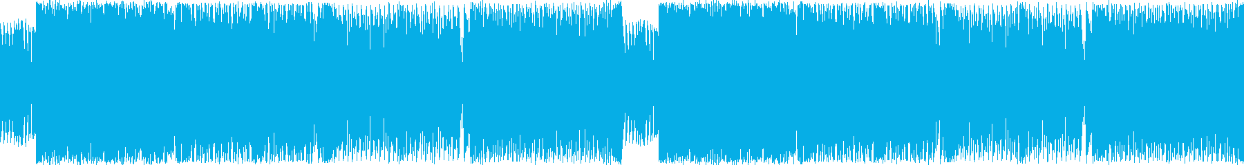 ジュリアナ系ハイパーテクノレイブ(サビ頭の再生済みの波形
