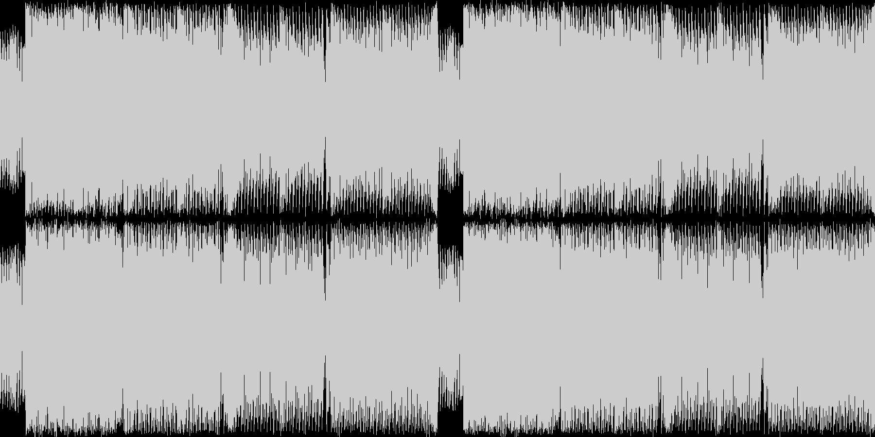 ジュリアナ系ハイパーテクノレイブ(サビ頭の未再生の波形