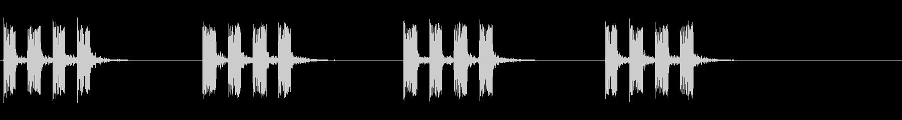 タイマー音01の未再生の波形