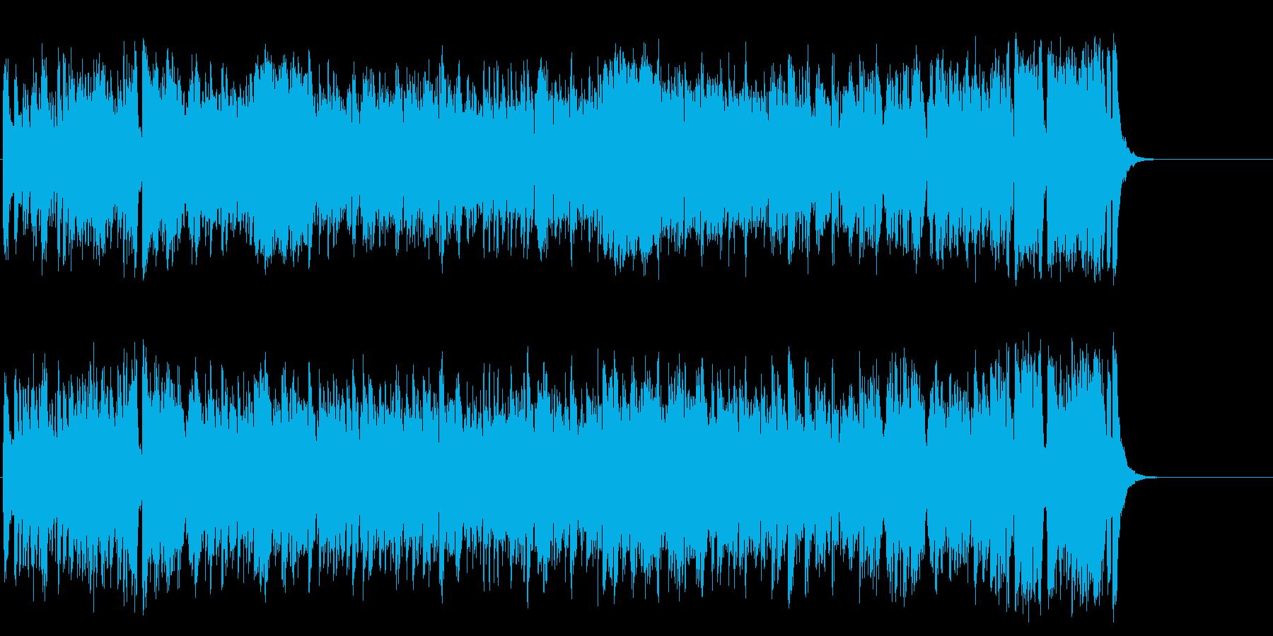 生き生きとしたダイナミック・ポップスの再生済みの波形