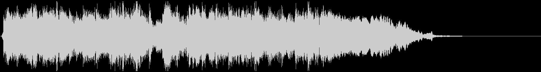 ゴリゴリな和風EDMジングル ※8秒版の未再生の波形
