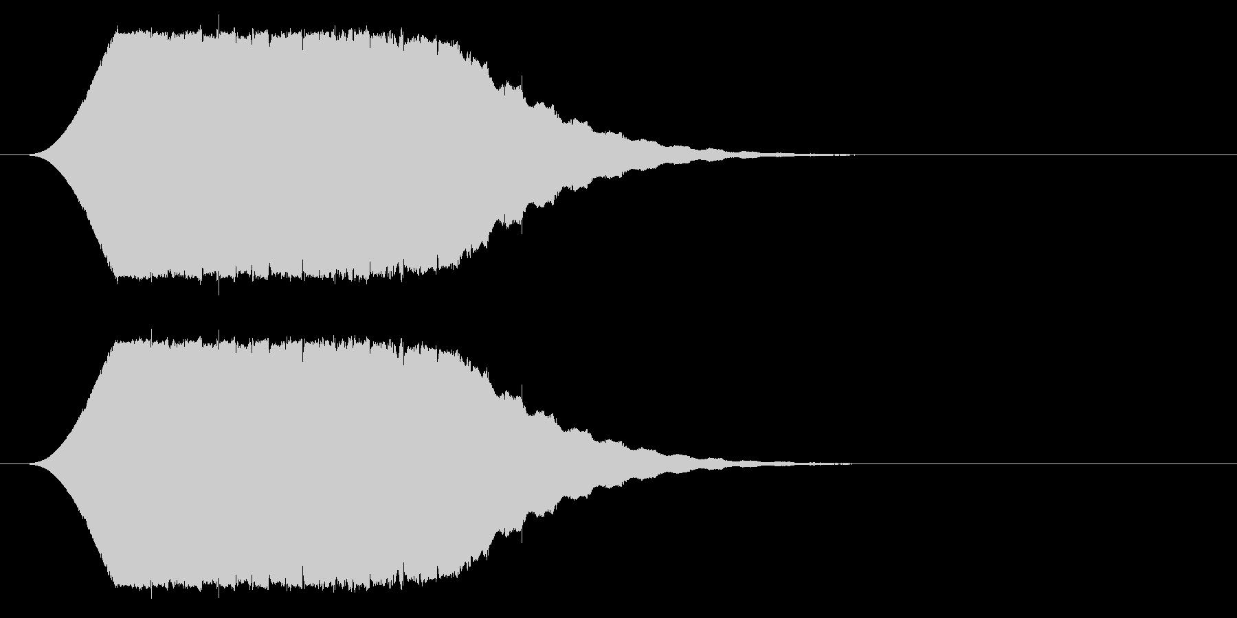 流れ星/キラキラ/場面転換の未再生の波形