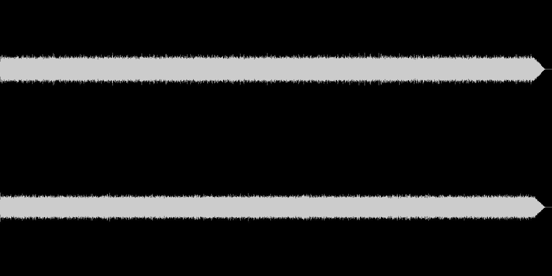ザーーー(テープノイズ-01-重め)の未再生の波形