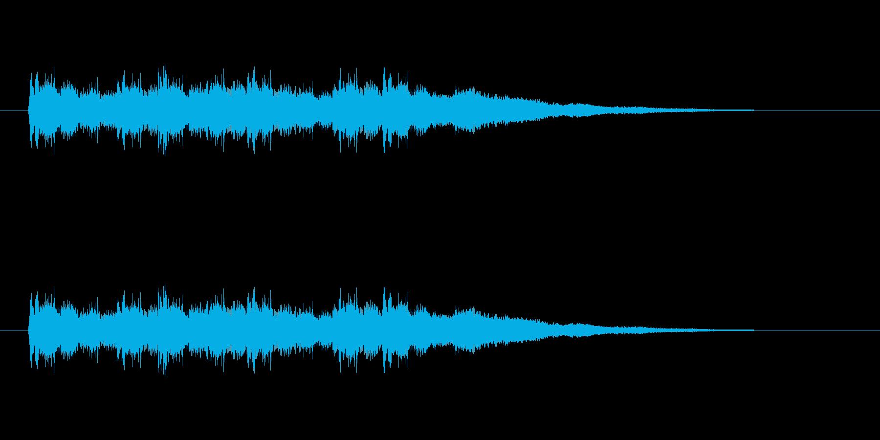 【競技用ゴング02-4】の再生済みの波形