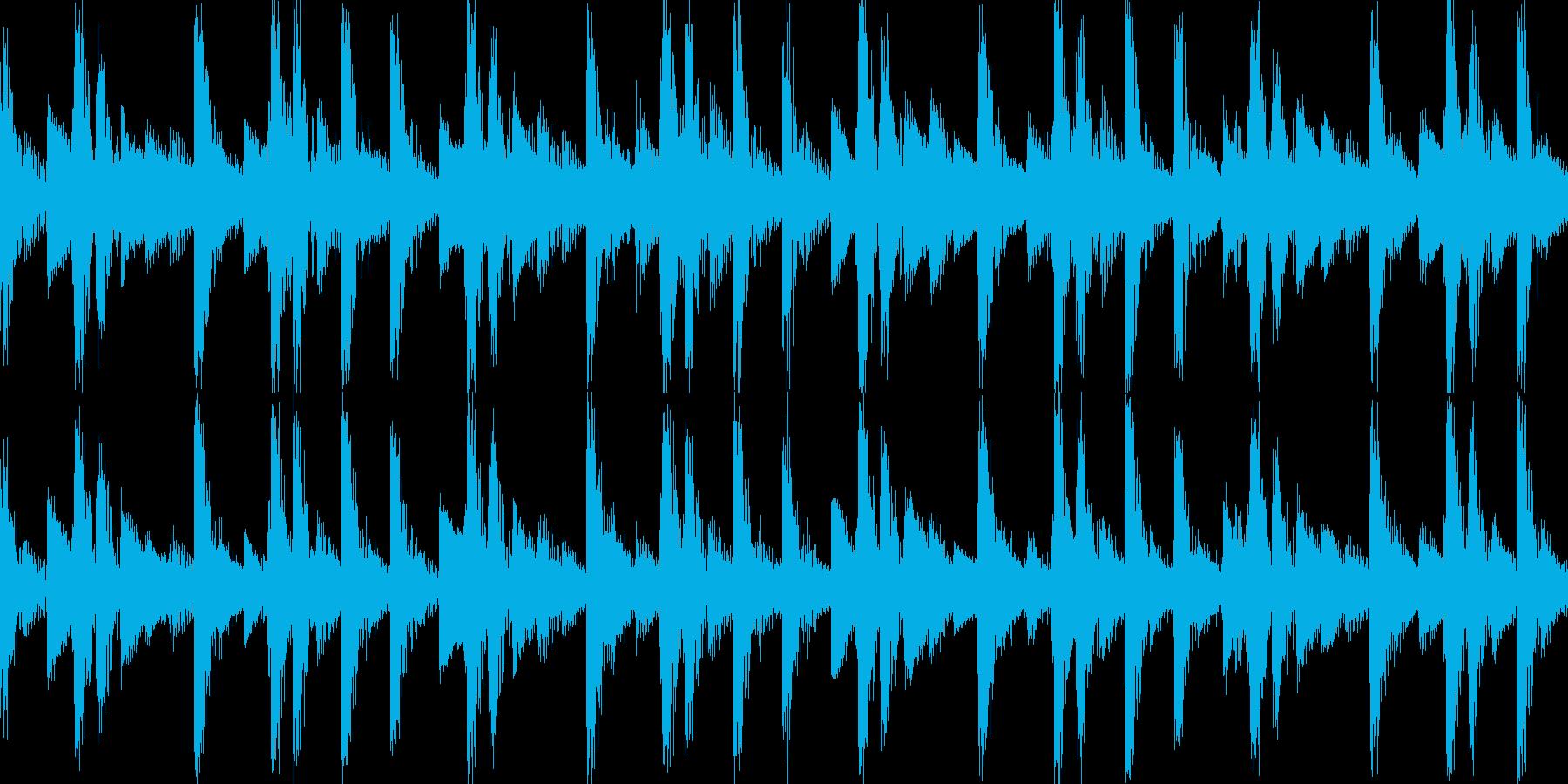 リザルト音01(ループ仕様)の再生済みの波形