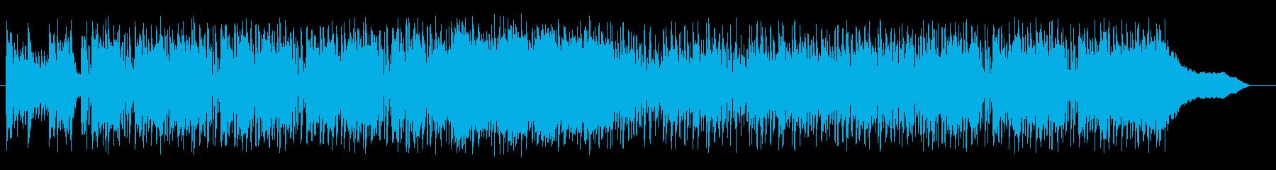 ロックでファンタジックなテクノポップの再生済みの波形