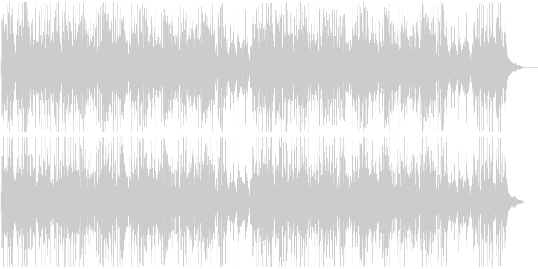 オープニング系爽やかピアノポップ明るいの未再生の波形