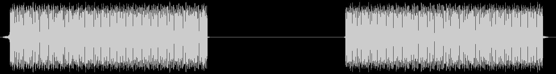 危険アラ-ム音の未再生の波形