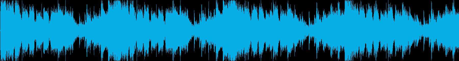 メニュー画面等のイメージ ループ曲の再生済みの波形