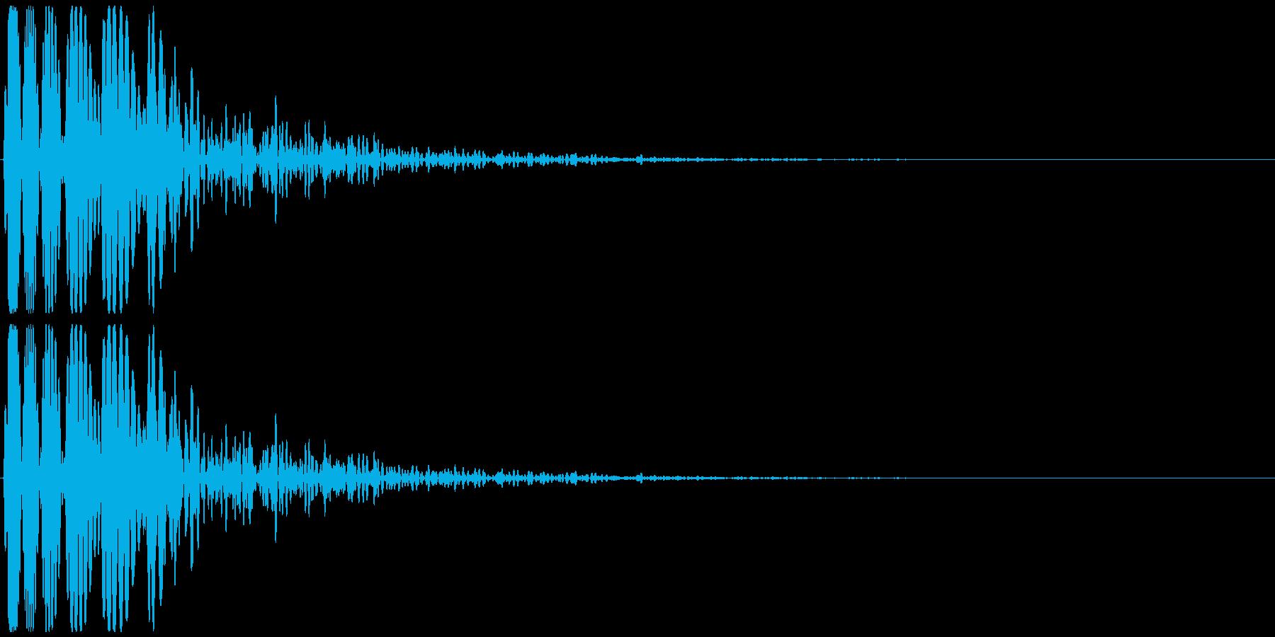 ドゥゥー 映画の予告など(インパクト音)の再生済みの波形