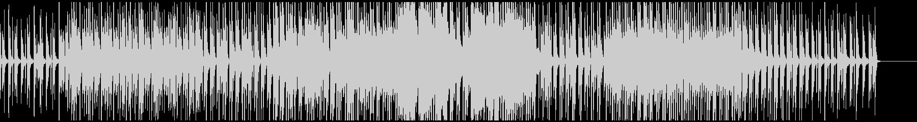 作業映像等に、ループするピアノエレクトロの未再生の波形