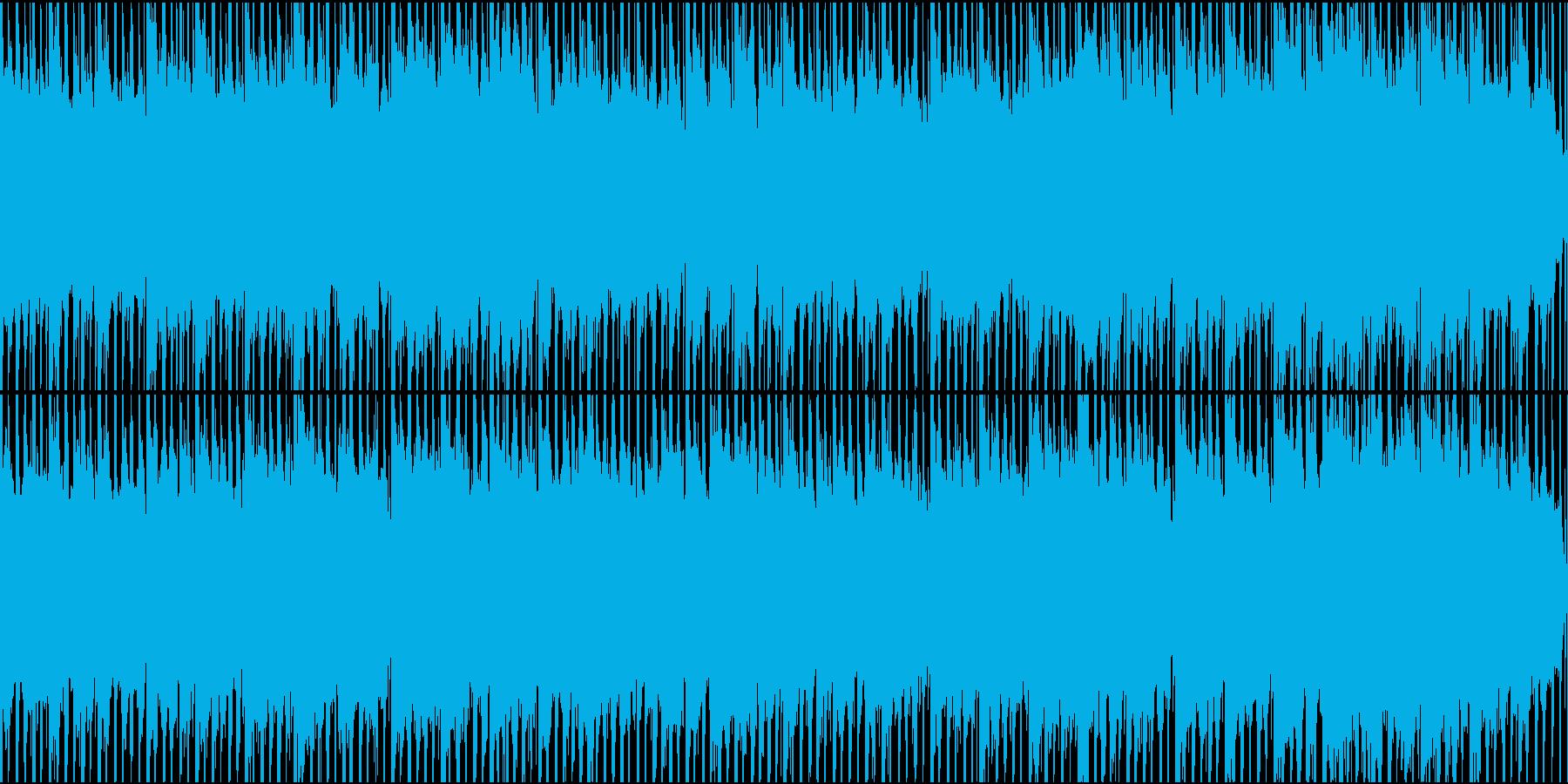 ドキュメンタリーやさしい曲2 ハウス風の再生済みの波形